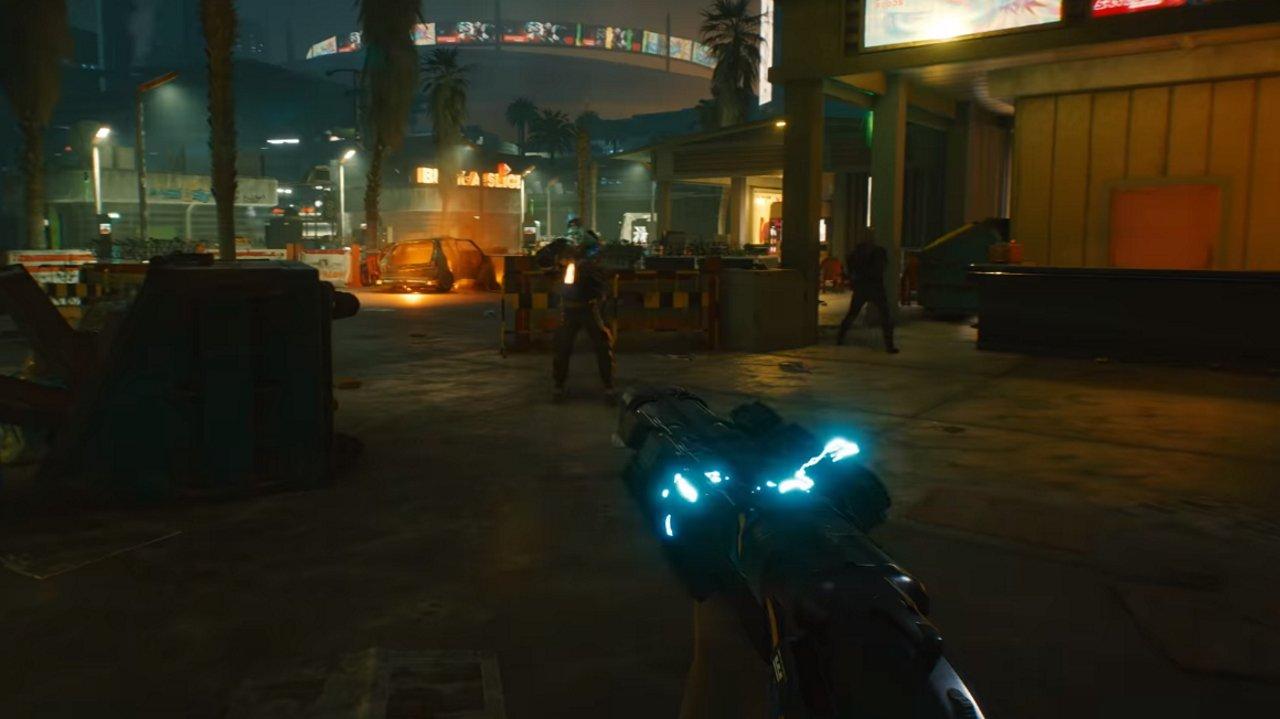 Cyberpunk 2077 shotguns