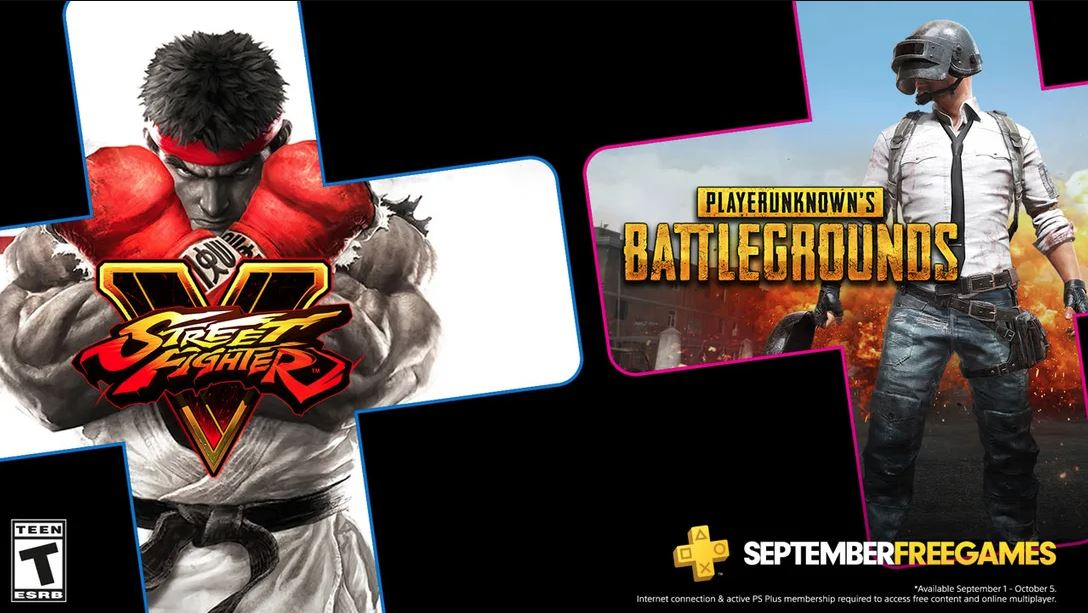 PS Plus for September 2020 includes Street Fighter V