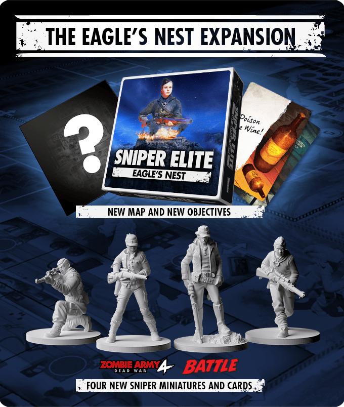 Sniper Elite board game kickstarter expansions