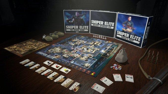 Sniper elite the board game on kickstarter now