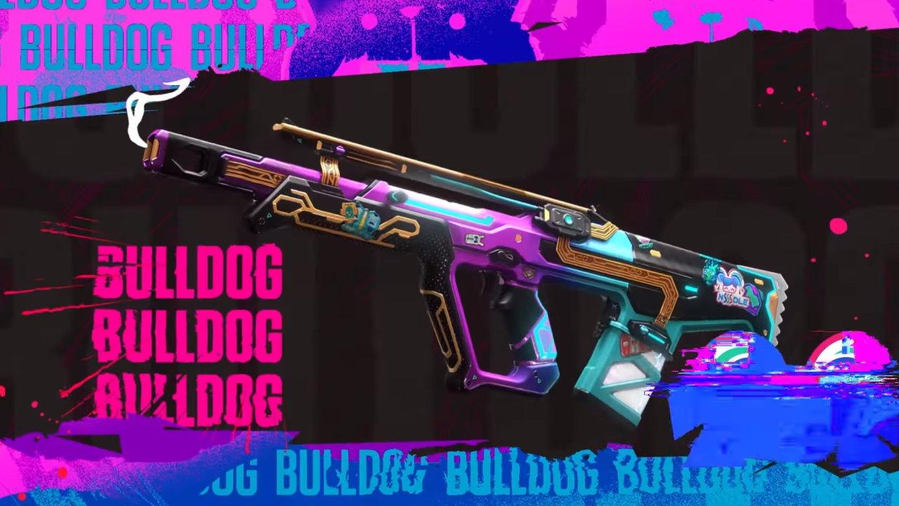 All new Valorant Glitchpop skins bulldog