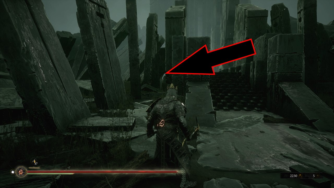Where to find Corrupted Sester Genessa location in Mortal Shell