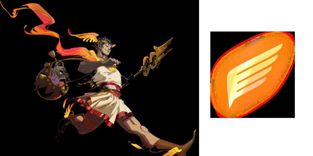 Hermes Symbol in Hades - All god symbols