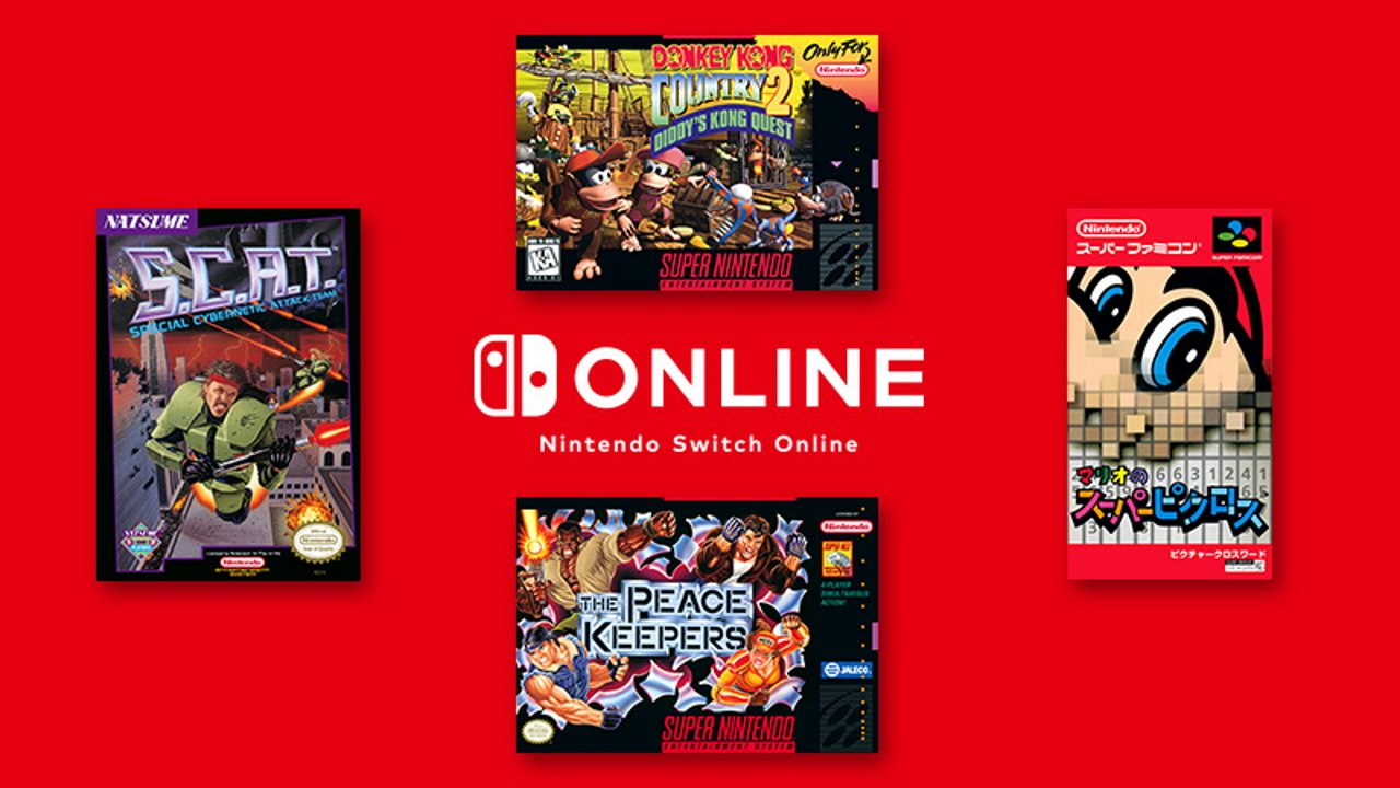 Nintendo Switch Online Donkey Kong Country 2 Mario's Super Picross