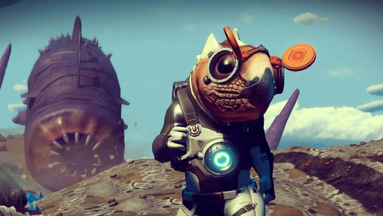 No Mans Sky origins update patch notes sandworms