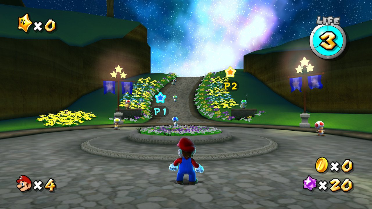 Super Mario 3d All-stars co-op