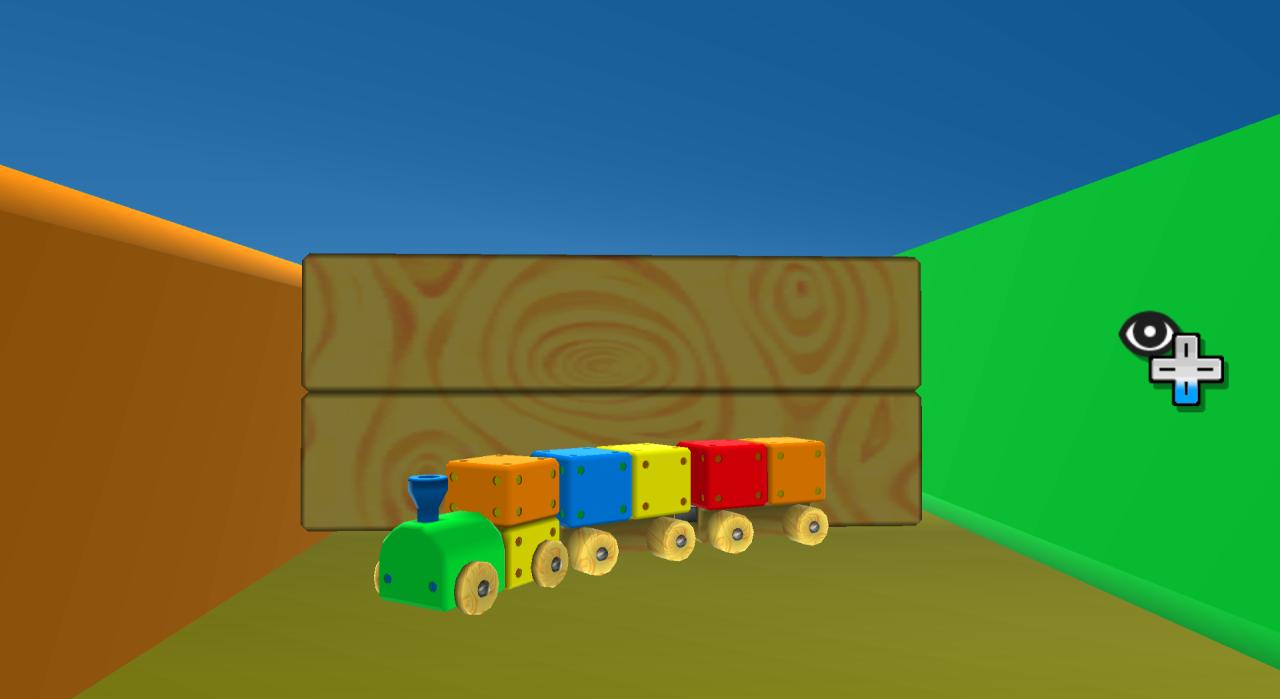 Super Mario Galaxy Toy Time train set