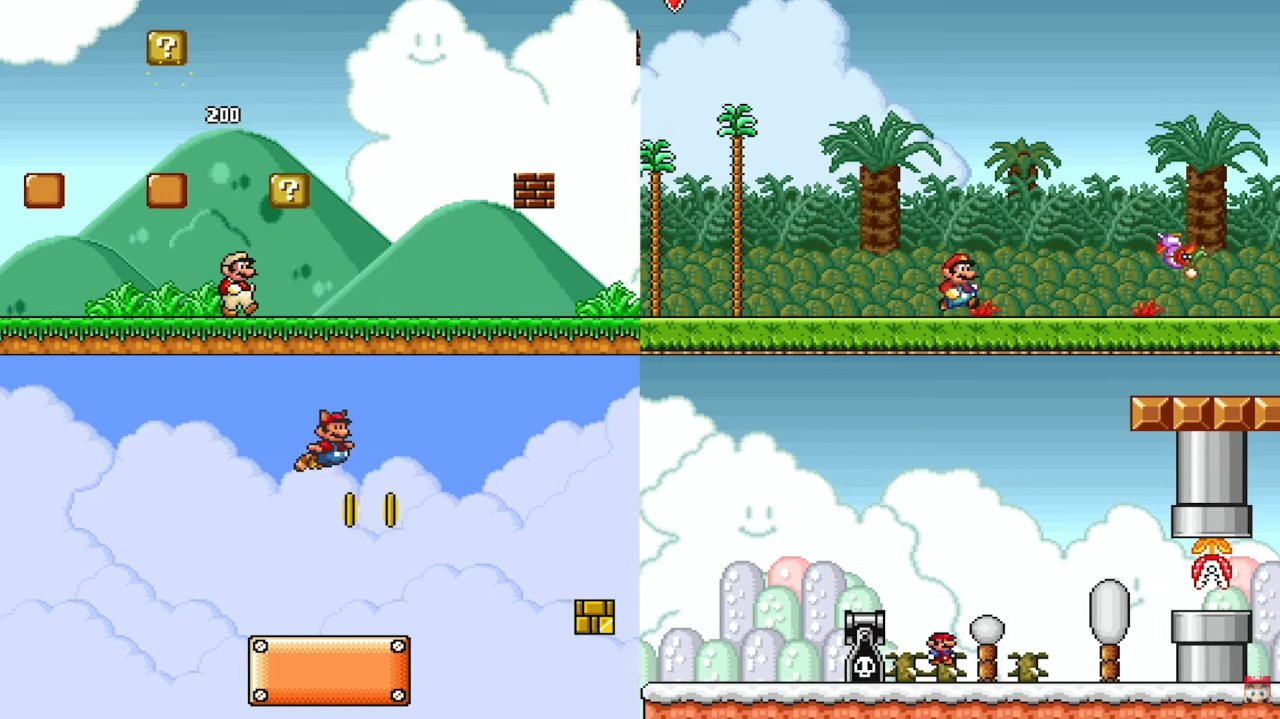Super Mario AllStars Nintendo Switch Online SNES today