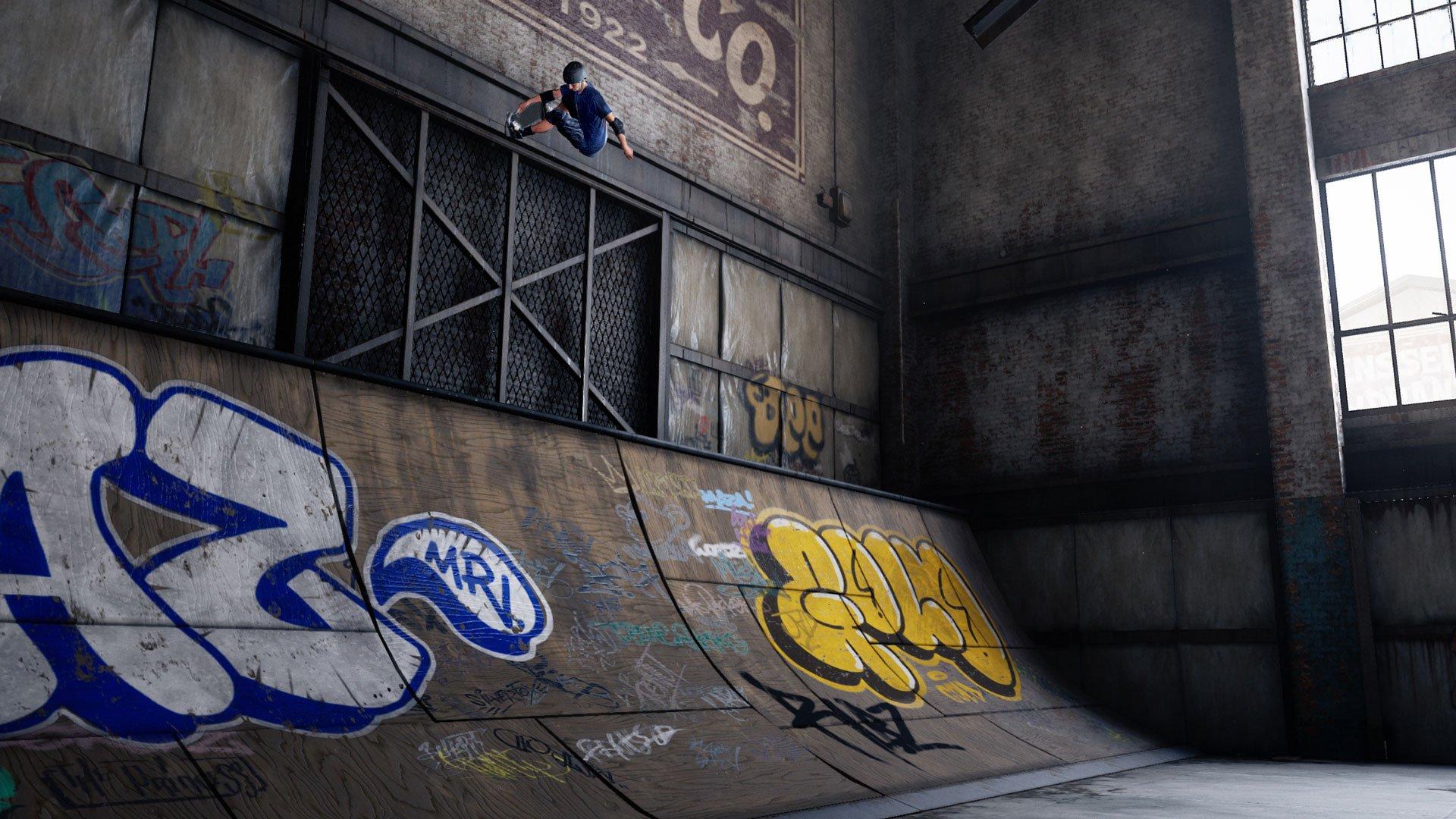 Tony Hawks pro skater 1+2 PS4 controls Xbox One