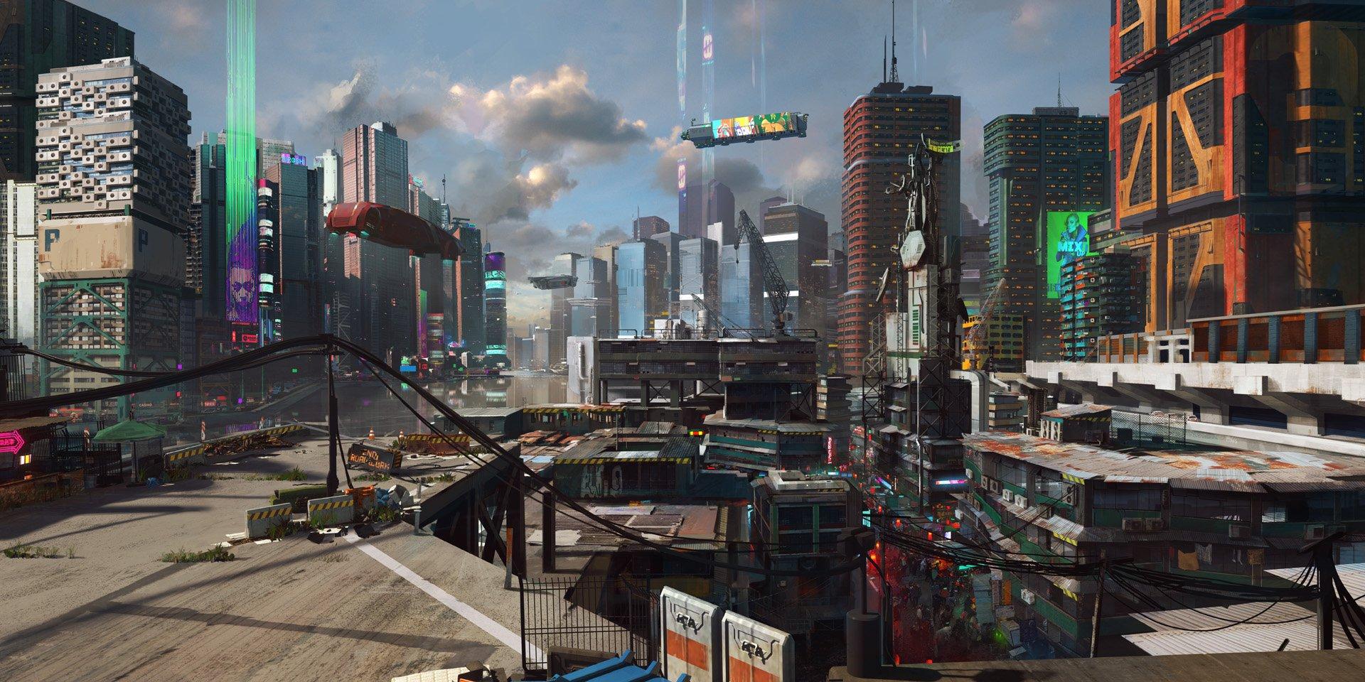 Cyberpunk 2077 locations revealed as Night City map leaks ...