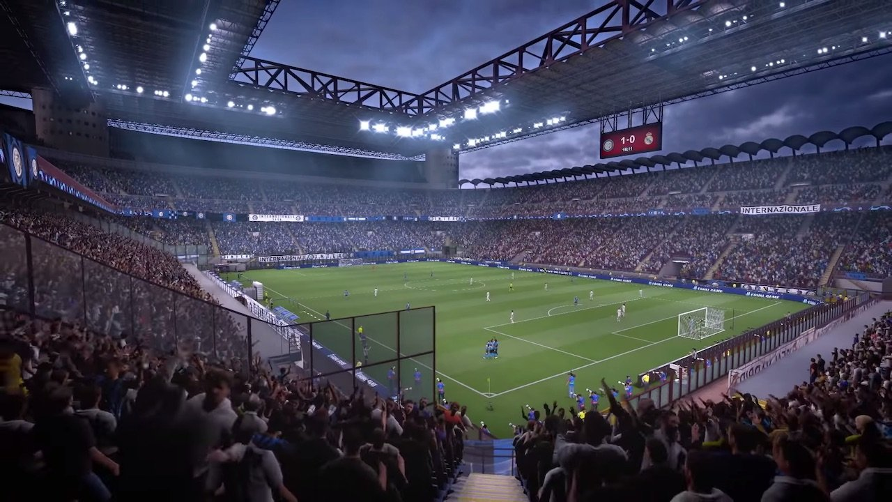 Each stadium has a different sound dynamic, reflected in FIFA's recordings.