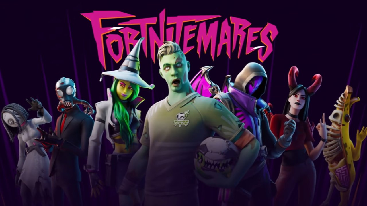 Fortnitemares 2020 all halloween events gaming