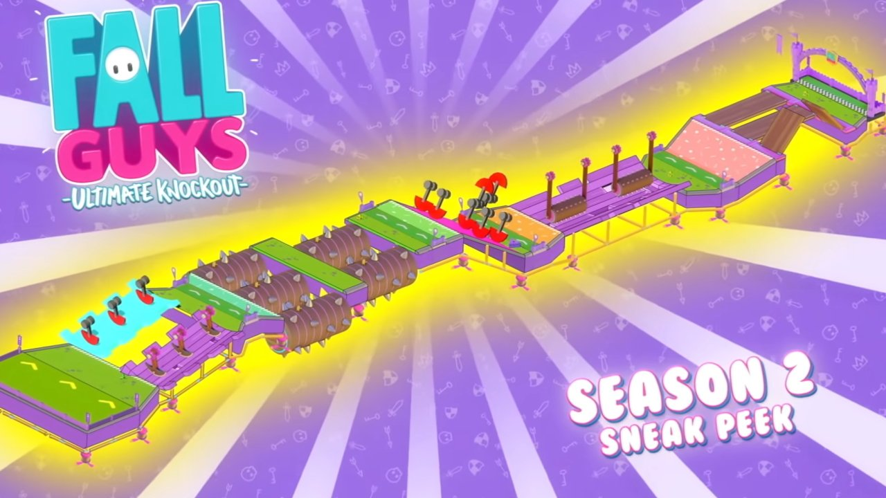 All new levels in Fall Guys Season 2 Knight Fever