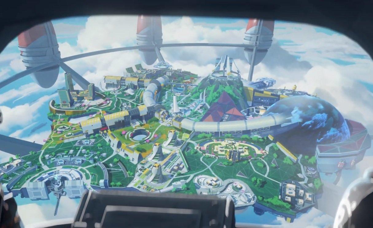 Apex Legends Olympus map locations