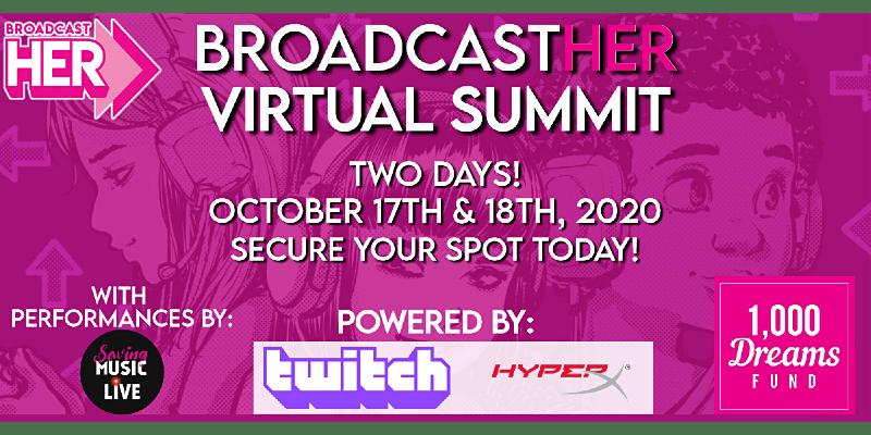 broadcasther virtual summit hyperx