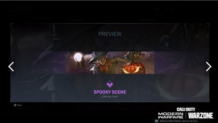Call of Duty Warzone trick or treat items