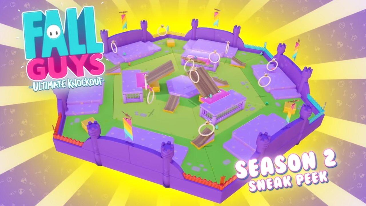 Fall Guys Season 2 all levels hoopsie daisy