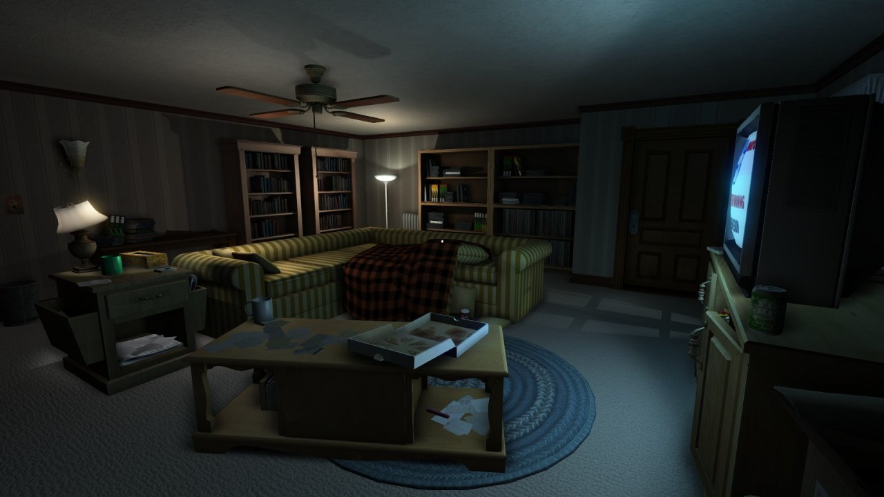 Gone home unexpectedly scary video games