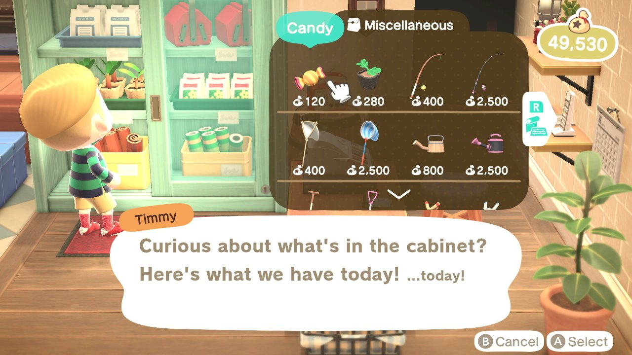 How to get candy in Animal Crossing: New Horizons