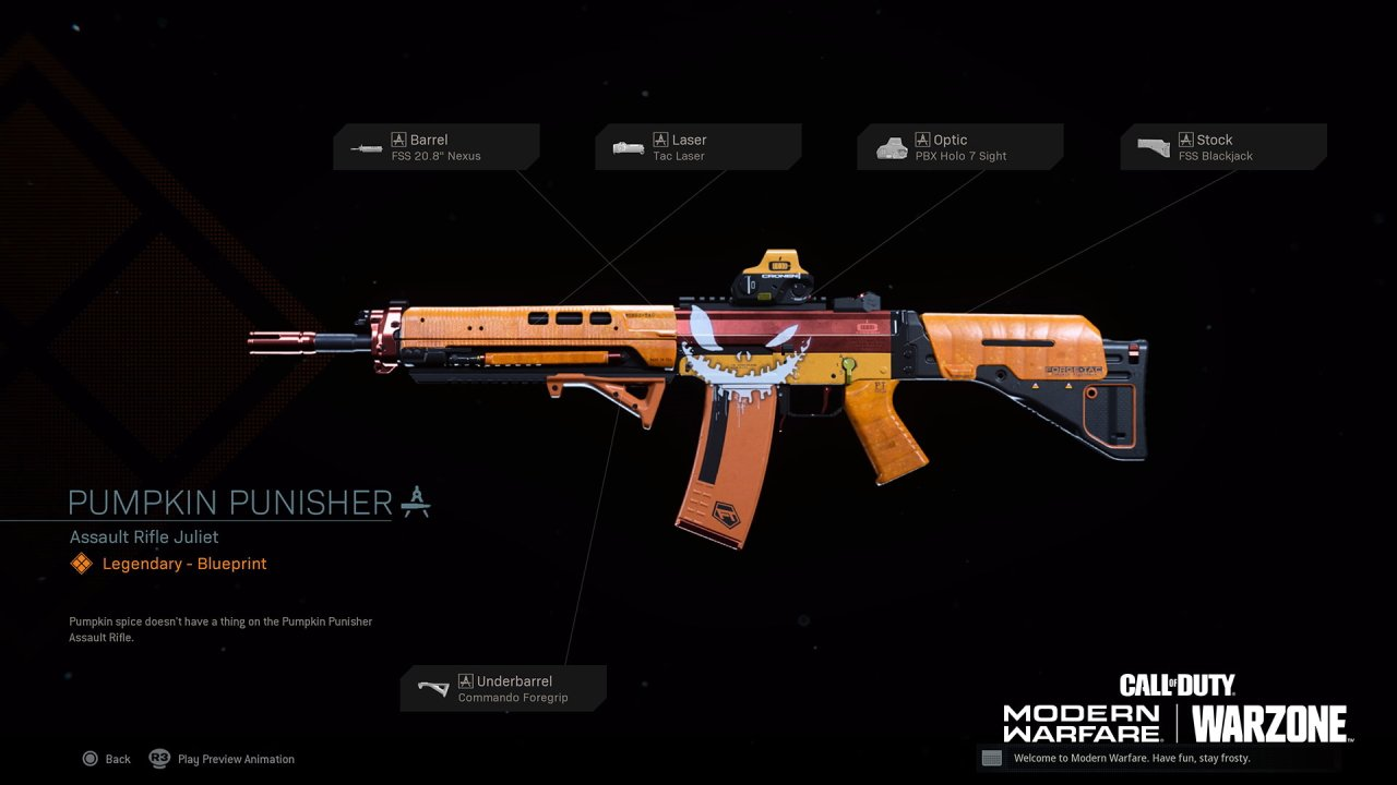 How to get the Pumpkin Punisher in Call of Duty Warzone