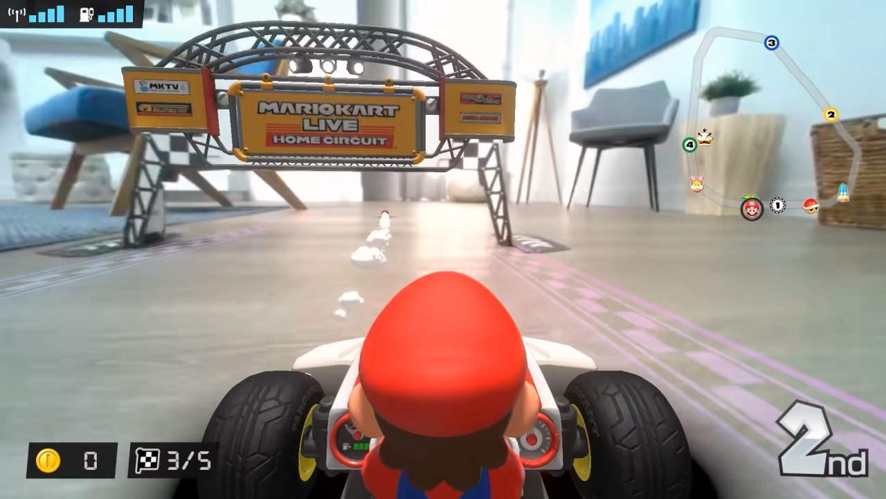 How to make a mario kart live track course