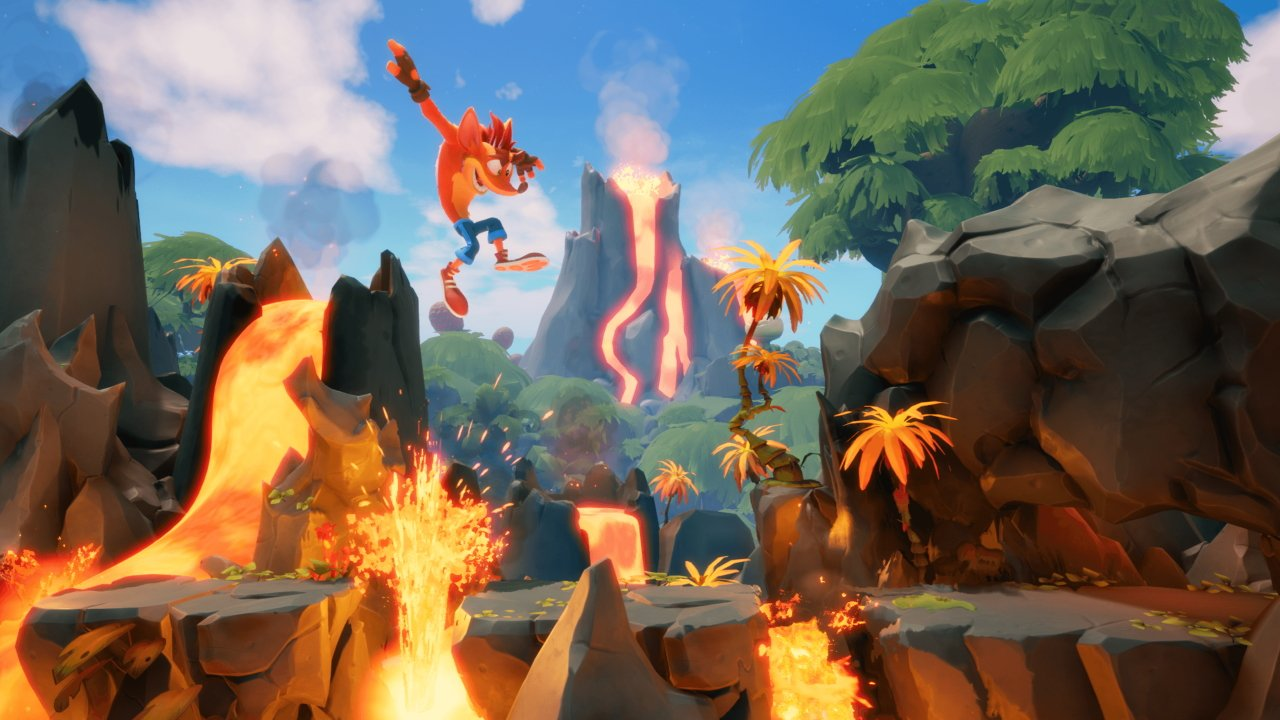 How to switch between Modern and Retro Modes Crash Bandicoot 4 its about time
