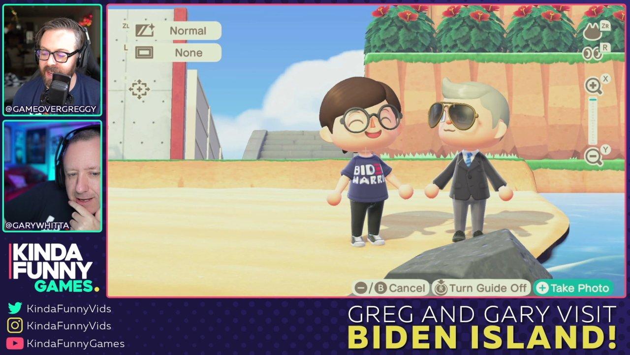 Joe Biden island Animal Crossing New Horizons dream code