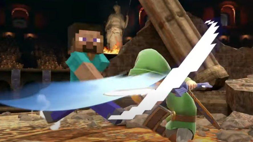 Smash Ultimate Minecraft Steve moveset Smash Ultimate