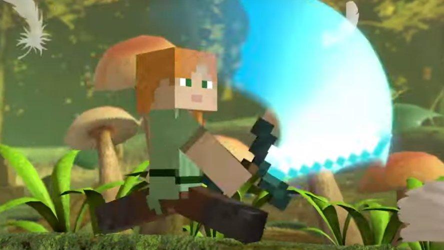 Minecraft Steve jab attack smash ultimate