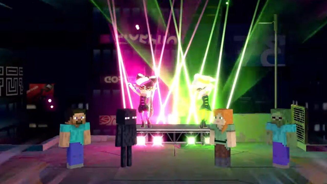 Minecraft Steve moveset Smash Ultimate