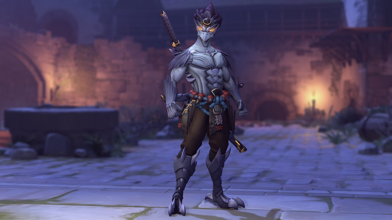 Halloween horror genji skin overwatch 2020