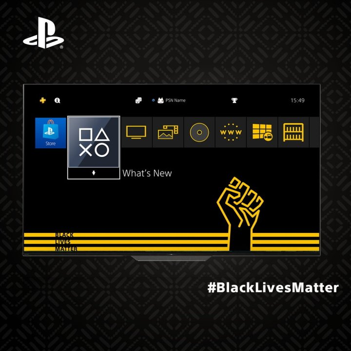 Ps4 Black Lives Matter Theme