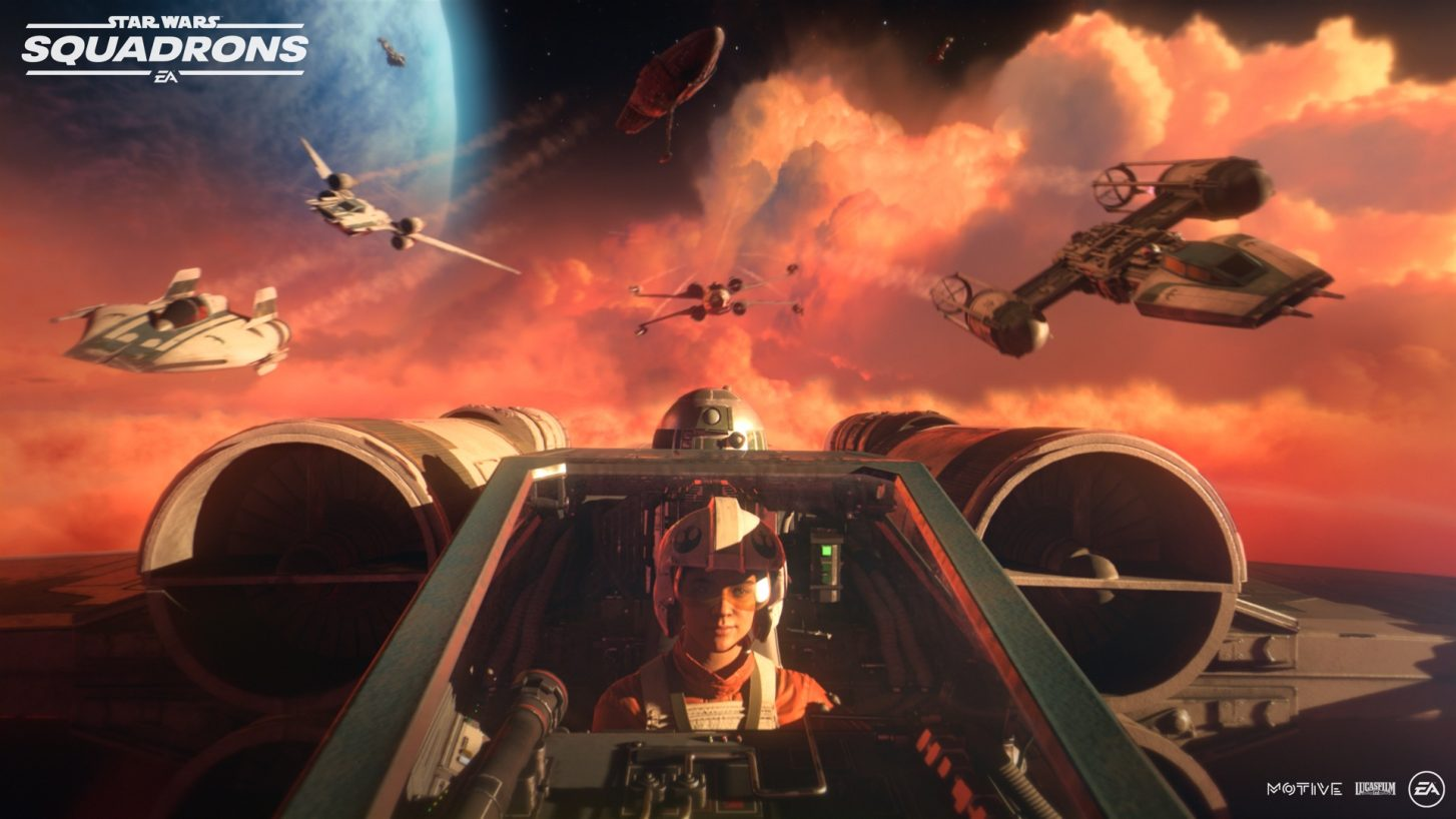all Supported VR Headsets for Star Wars: Squadrons