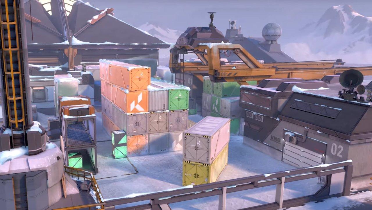 Valorant Icebox new map reveal act 3