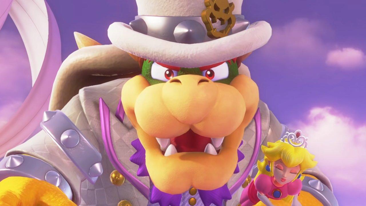 Video game debate moderator Bowser