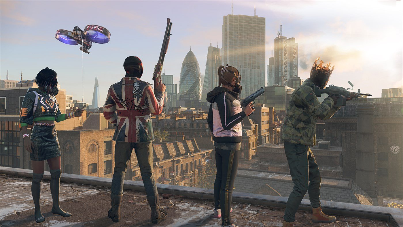 Watch Dogs Legion multiplayer guide: Co-op, crossplay, and playing with friends © Ubisoft
