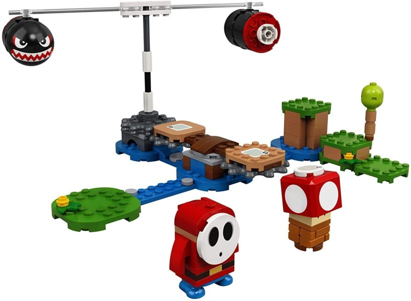 Affordable gaming themed gifts and stocking stuffers lego mario set
