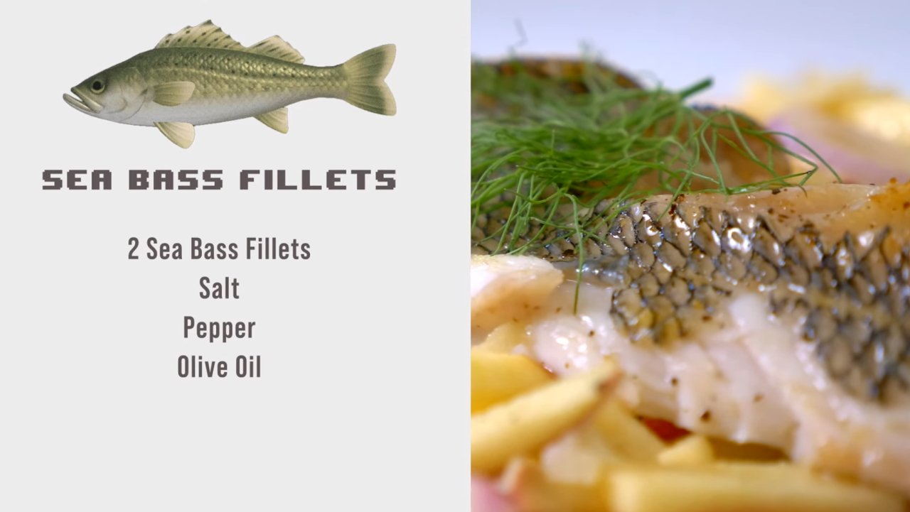 Boss Bytes Animal Crossing inspired recipes sea bass