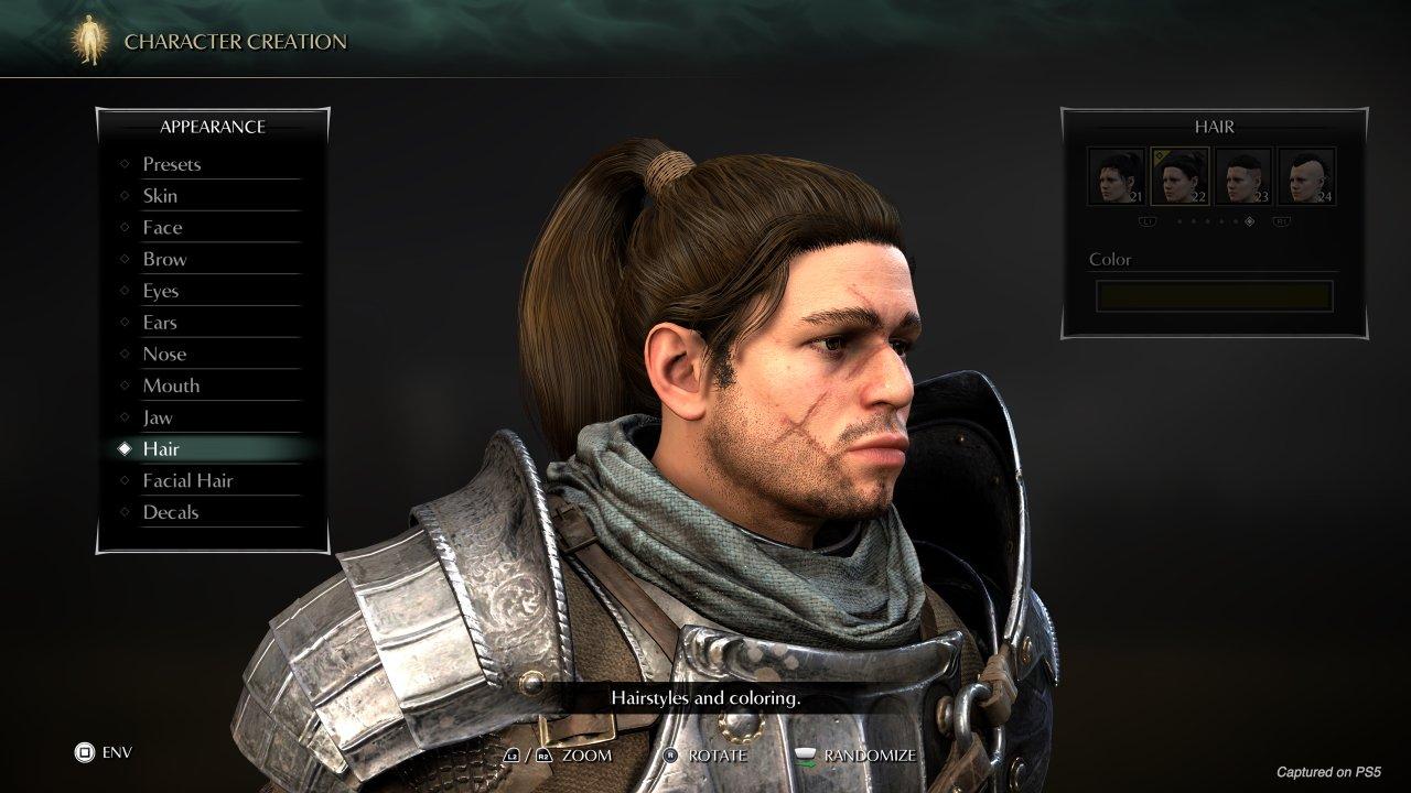 Demons Souls character creator