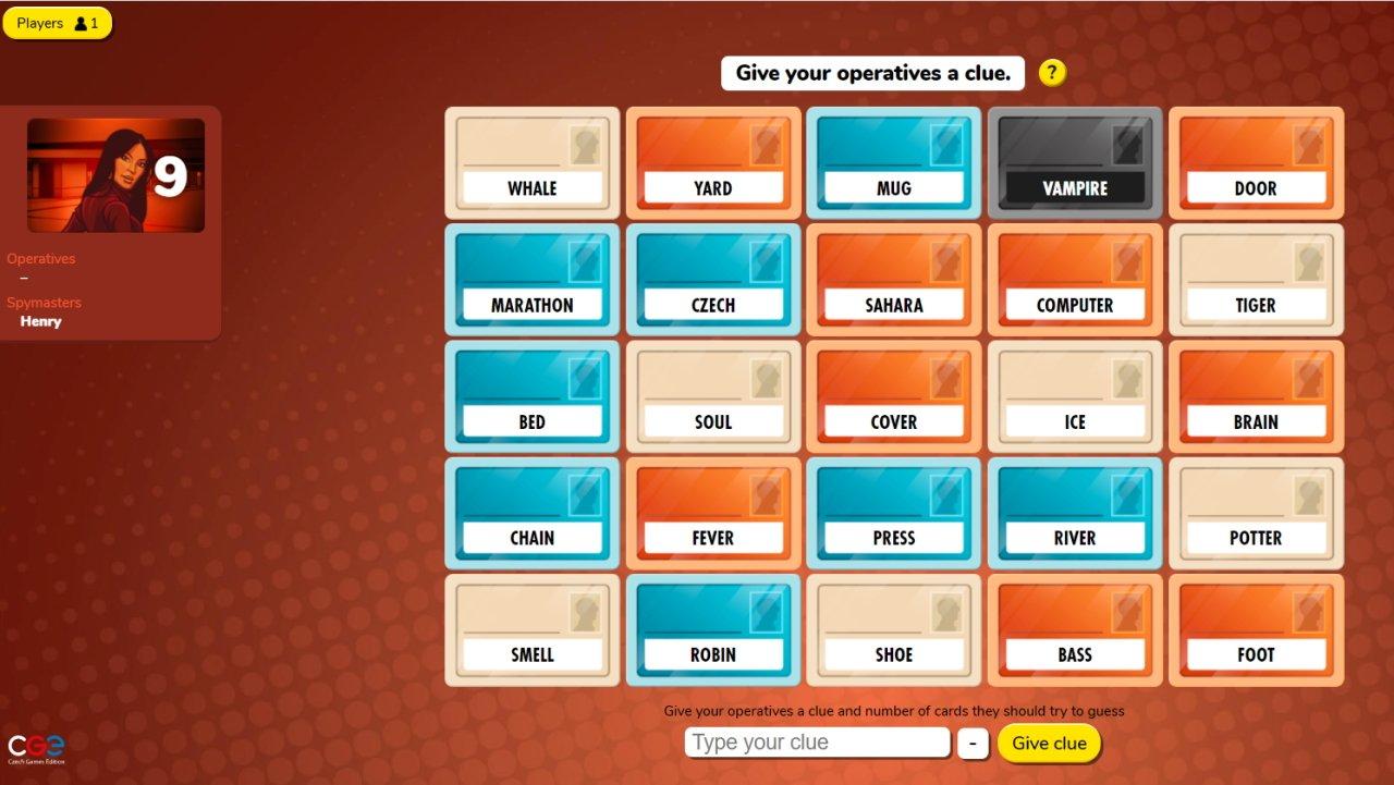 best digital board games codenames
