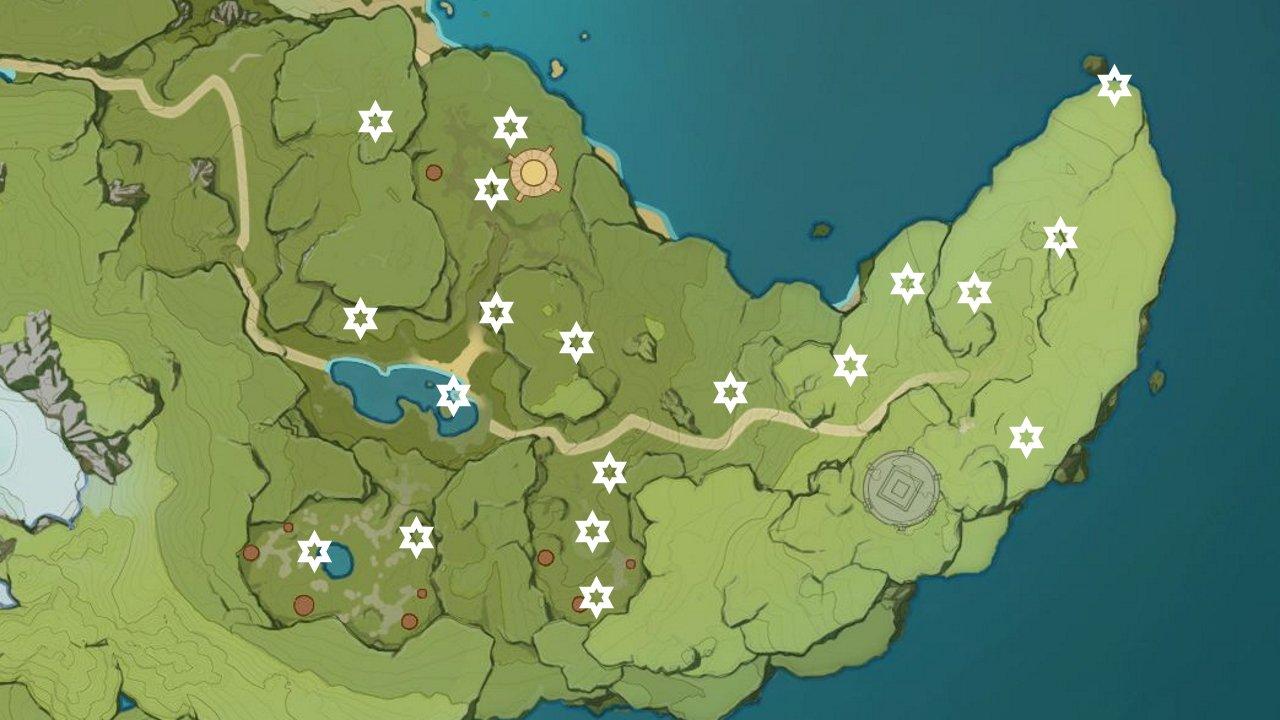 Genshin impact dadaupa gorge meteorite locations