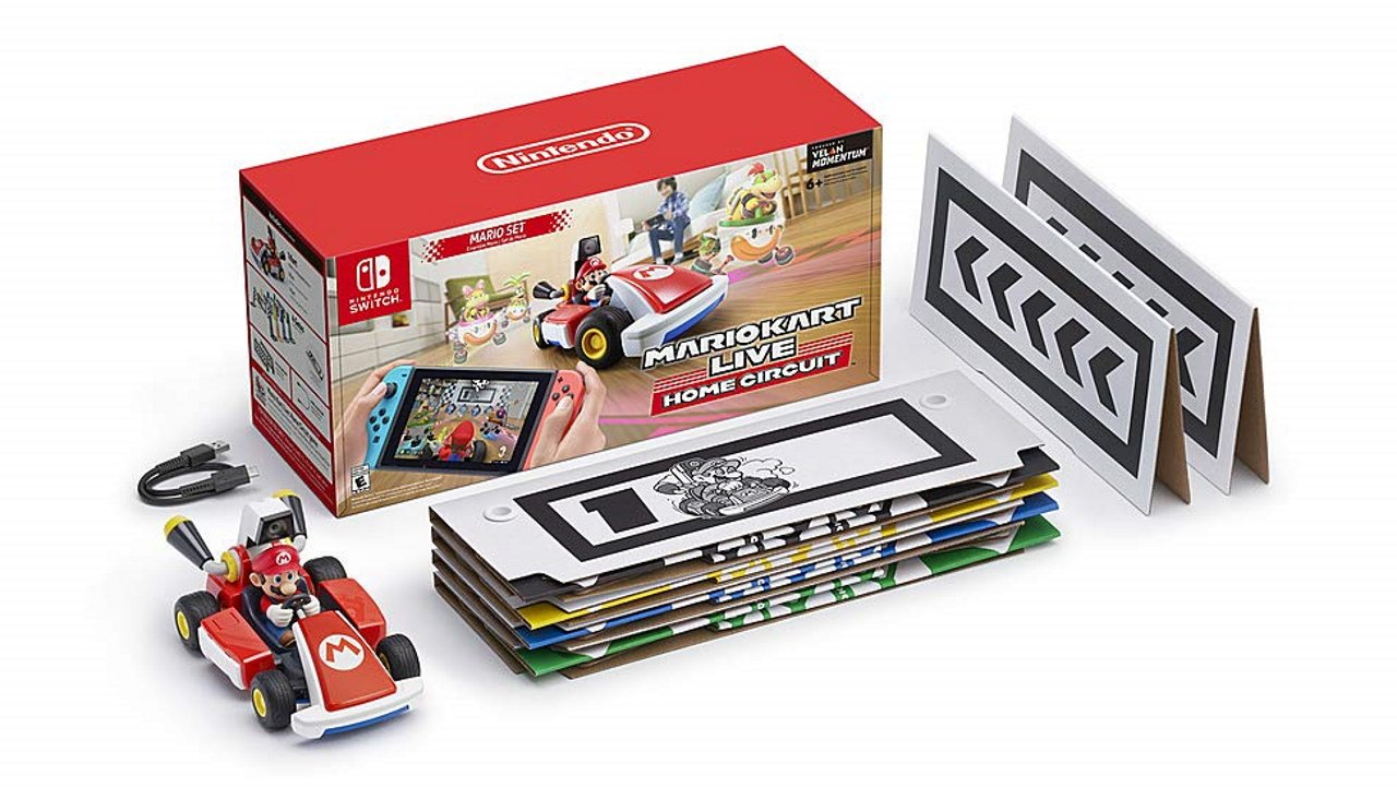Holiday 2020 gift guide Nintendo Switch - Mario Kart live