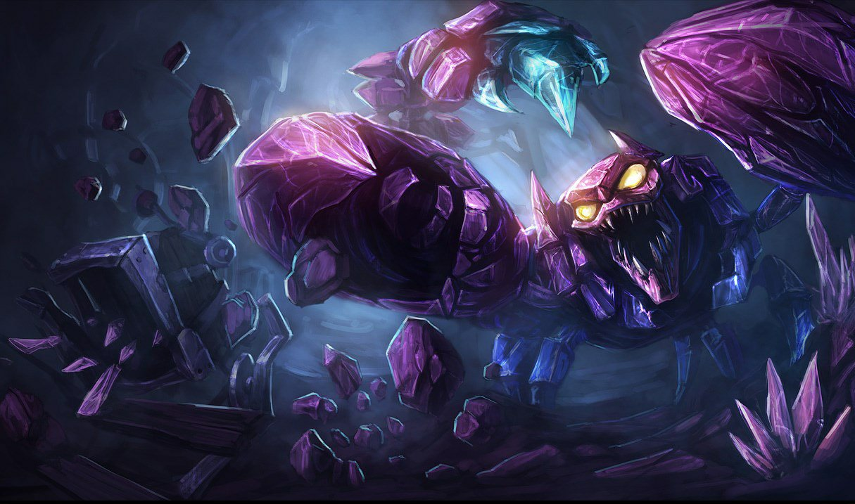 Skarner is not happy about any of this © Riot Games