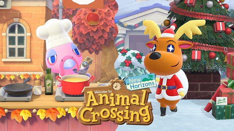 Animal Crossing New Horizons Festive DIY recipe list © Nin