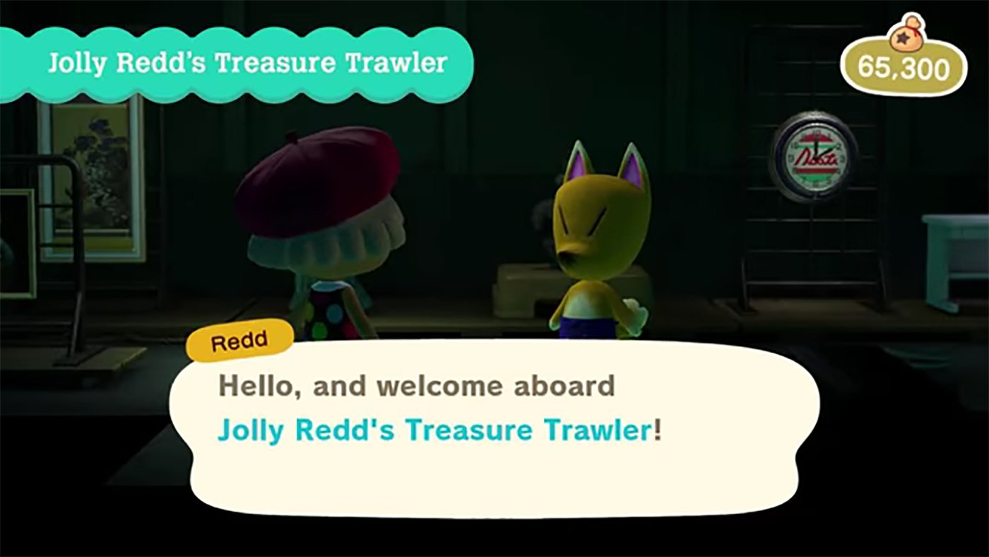 Animal Crossing New Horizons Redd's art guide © Nintendo