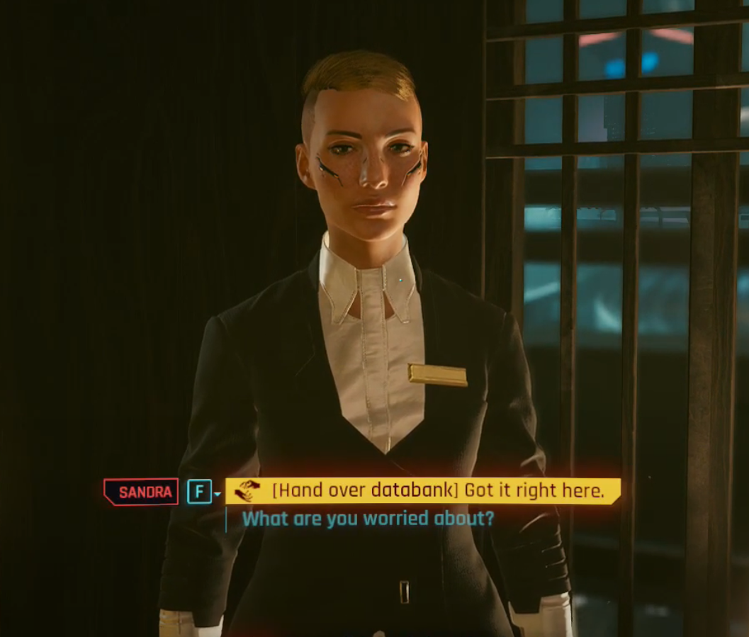 How to get the best rewards for Full Disclosure in Cyberpunk 2077 © CD Projekt Red