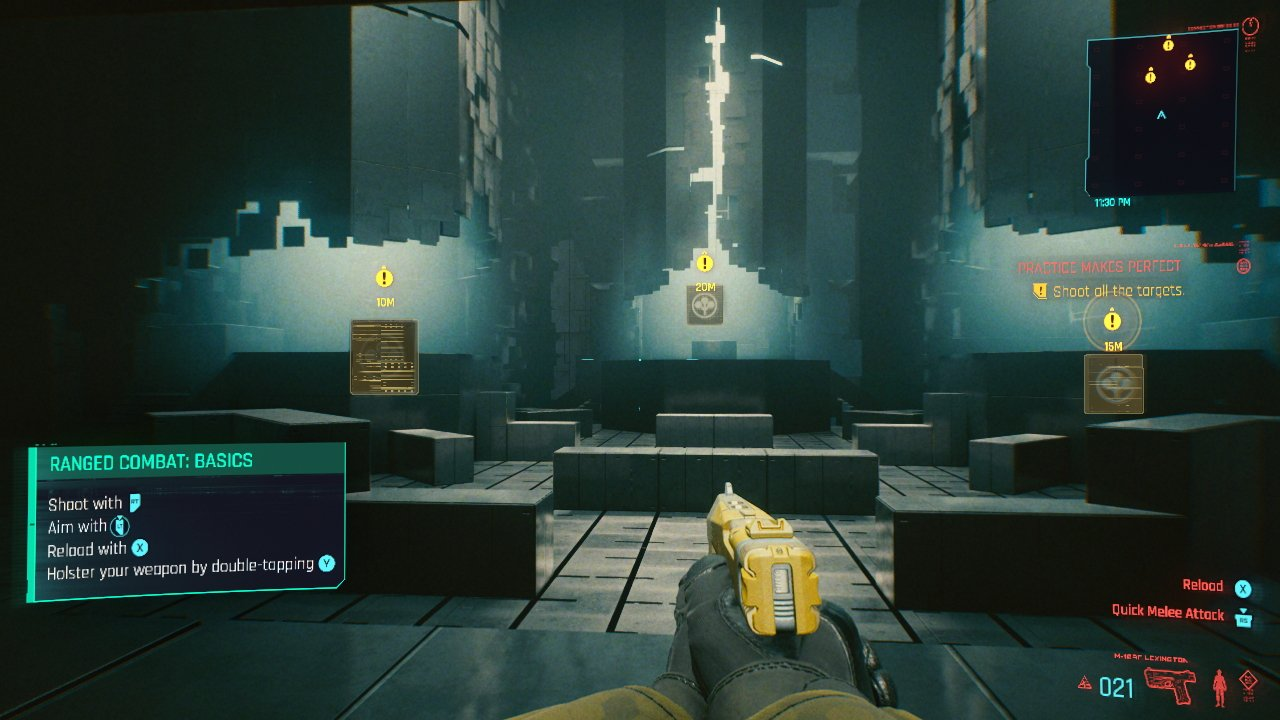 How to holster weapons in Cyberpunk 2077 put gun away