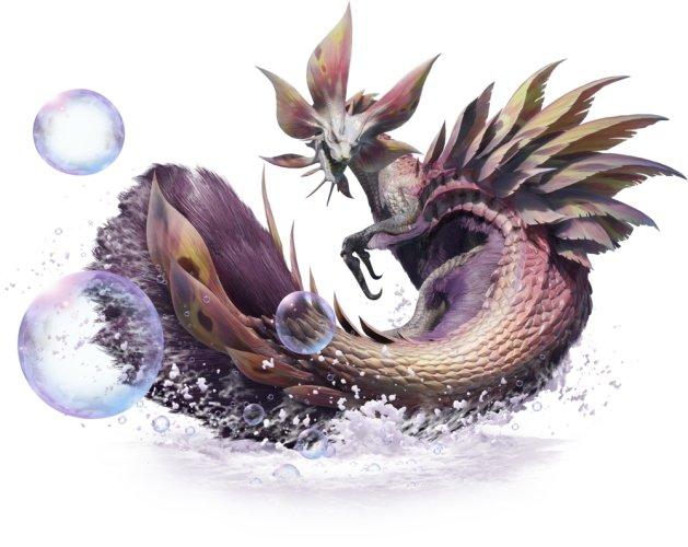 All monsters in Monster Hunter Rise demo mizutsune
