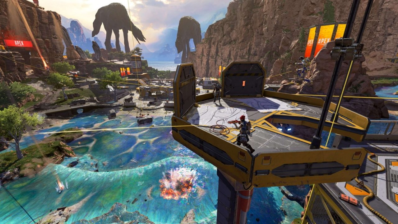Apex Legends Season 8 kings canyon changes spotted lakes