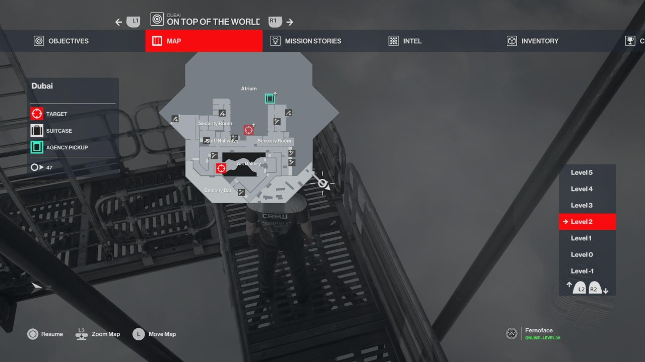 hitman 3 dubai helicopter key location